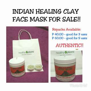 Indian Healing Clay Face Mask