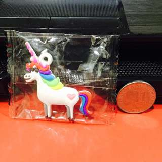 Disney Unicorn Rubber Charm