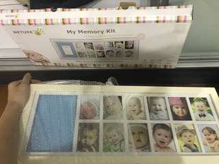 Memory keepsake photo frame