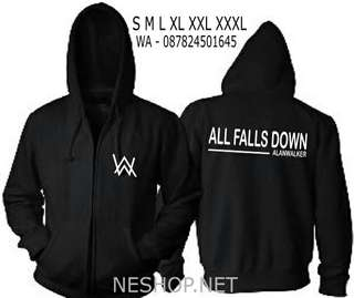 Jaket Alan Walker All Falls Down