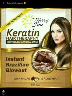 Chocolate keratin