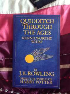 quidditch though the ages by j.k. rowling