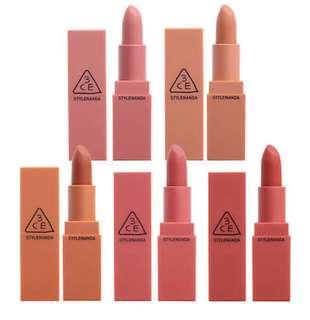3CE Matte Lipstick