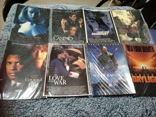 90s Movie postcards set x 24pcs (Sealed)