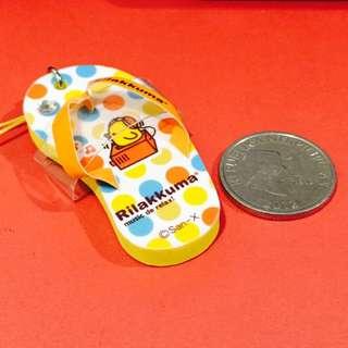 Rilakkuma Slipper Phone Charm