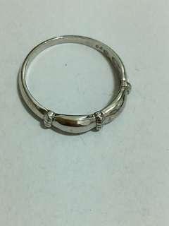 全新純銀戒指