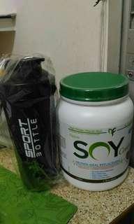 NovaForme 全面營養大豆蛋白代餐粉飽肚瘦身減肥蛋白粉代餐 纖體 朱古力味 Meal Replacement Lose Weight Keep Fit 全新搖搖杯 total soy