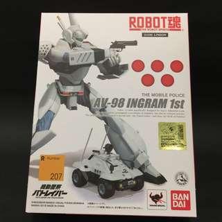 Bandai THE ROBOT SPIRITS <SIDE LABOR> Ingram 1st