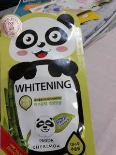 Panda cherimoa sheet mask