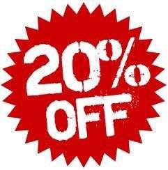 20% off khusus Bags