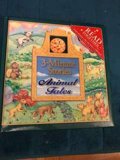 3 Minute-Bedtime Stories-hardcover