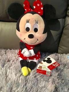 BN Minnie Mouse Plush *Free postage*