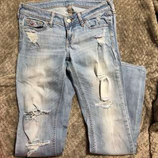 Distressed/Tattered Jeans