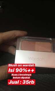 Blush on wardah