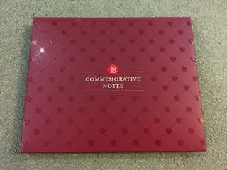 🆕 SG50 Commemorative Notes- Collectors Edition