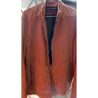 Leather Jacket Cattleman ZARA