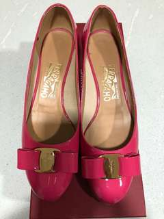 Ferragamo Shoes hot pink