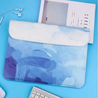 [PO] Blue Cloudy Laptop Sleeve (MacBook Only)