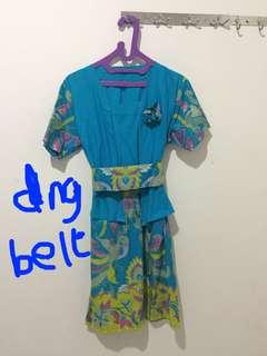 Dress terusan batik