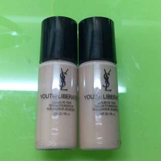 Ysl youth liberator foundation B10 BD10 10mlx2 一套2支