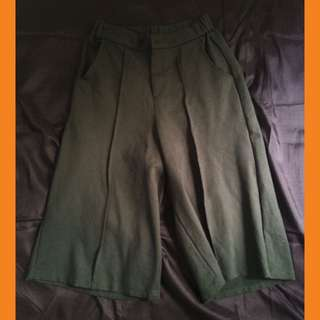 NotYourOrdinary Army Green Cullotes