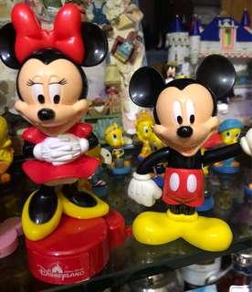 🚚 香港迪士尼 米奇&米妮 公仔一對