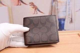Coach man wallet
