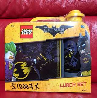 Batman Lunch Set