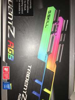 Trident Z RGB 2400Mhz New condition sealed in box!