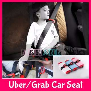 ★CHEAPEST + FREE GIFTS★Compact Travel Child Children Kids Baby Safety Booster Seat★Uber Grab Taxi Car★Travel Lightweight Portable Foldable★Mifold Yifold Similar★