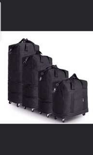 Brand New Expandable Trolley Travel Bag With Wheels Cabin Size To Check In Bag X 2