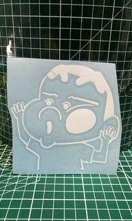 La Bi Xiao Xin 蜡笔小新 Crayon Shin chan Vinyl Sticker Car Laptop Decal