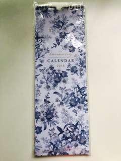 2018 Floral Calendar (M&S)