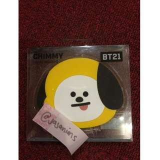 CHIMMY BT21 Official Hand Mirror