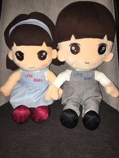 BN Timezone boy & girl Plush 40cm