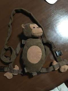 Monkey baby leash