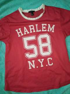 Forever 21 red jersey