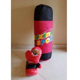 Kids Punching Bag - Brand New