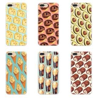 Food customised phone case
