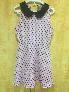 Forever 21 Purple Kitty Skater Dress