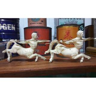 Vintage liquor figurines