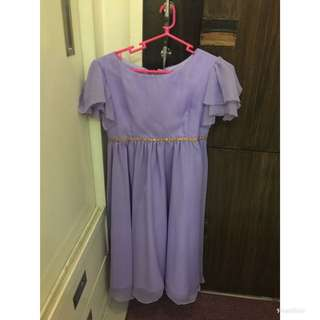 Purple costume/dress for girls