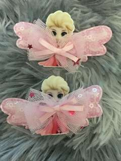 BN Princess Elsa and Sofia hair clips