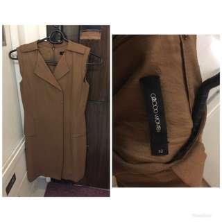 G2000 Brown dress