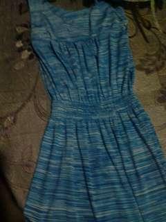 Blue dress for teen