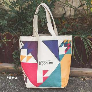 Miwa Canvas Tote Bag.