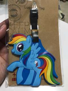 My little pony Luggage Tag with free gift