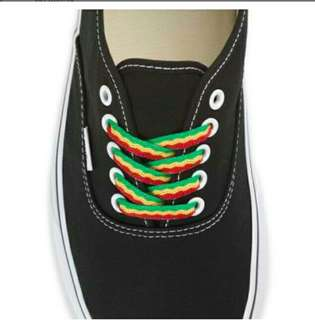 Vans rasta shoelace