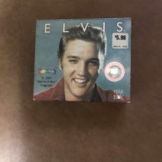 Elvis calendar