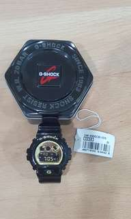 G-Shock black gold